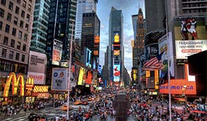 Time Square Manhattan New York i USA