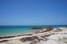 Stranden i Key West Florida