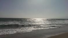 Havet vid Venice Beach i Los Angeles