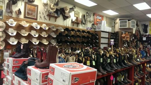 Cowboy affär i USA