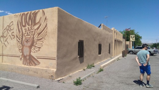 Owl Bar Cafés i New Mexico USA