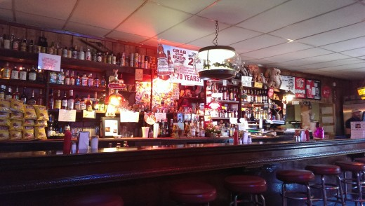 Owl Bar Cafés bar i New Mexico USA