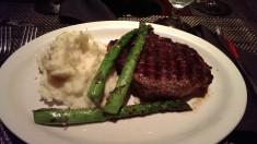 Kött middag i Texas