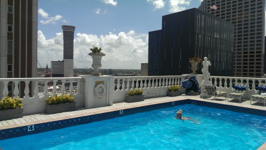 Tak hotell New Orleans