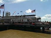 Natchez på Mississippifloden