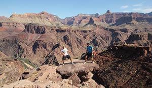 Vandring i Grand Canyon