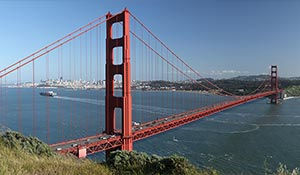 Golden gate bron i San Francisco