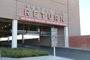 Rental car return las vegas